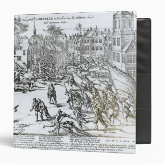 The Battle of Courtrai Between the French 3 Ring Binder