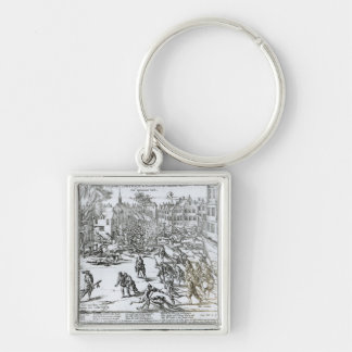 The Battle of Courtrai Between the French Keychain