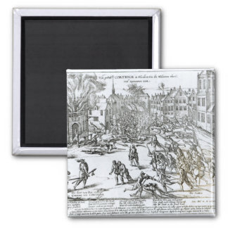 The Battle of Courtrai Between the French Magnet