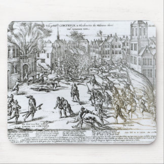 The Battle of Courtrai Between the French Mouse Pad