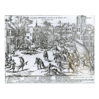 The Battle of Courtrai Between the French Postcard