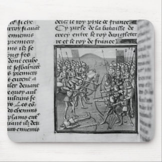 The Battle of Crecy in 1346 Mouse Pad