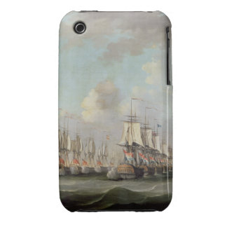 The Battle of Dogger Bank, showing the `Holland' a iPhone 3 Case-Mate Case