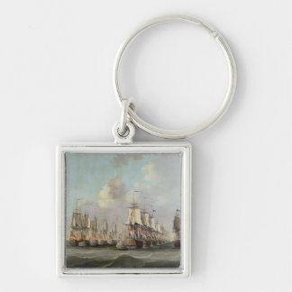 The Battle of Dogger Bank showing the `Holland a Keychains