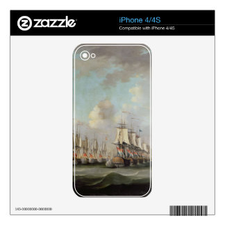 The Battle of Dogger Bank, showing the `Holland' a Skins For iPhone 4S