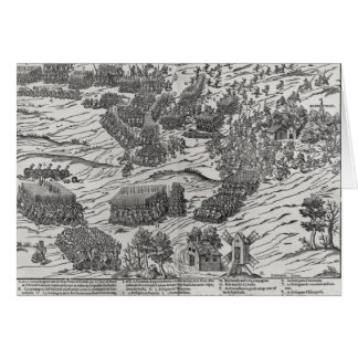 The Battle of Dreux, 19th December 1562 Greeting Card