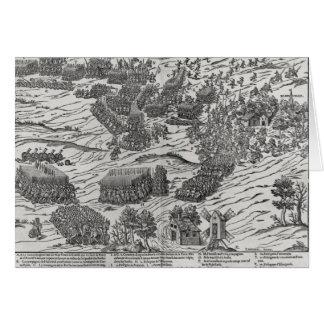 The Battle of Dreux, 19th December 1562 Card