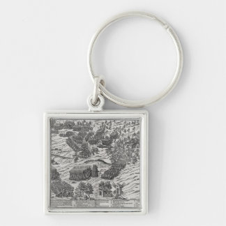 The Battle of Dreux, 19th December 1562 Key Chain
