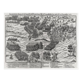 The Battle of Dreux, 19th December 1562 Postcard