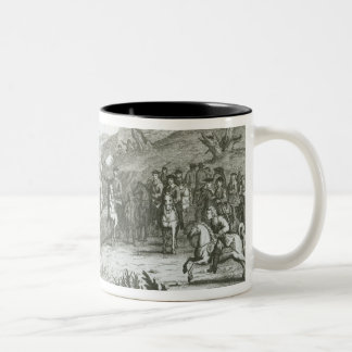 The Battle of Edgehill, 23rd October 1642 Two-Tone Coffee Mug