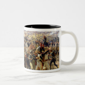The Battle of Essling, May 1809 Two-Tone Coffee Mug