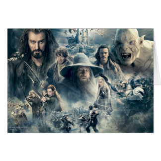THE BATTLE OF FIVE ARMIES™ GREETING CARDS