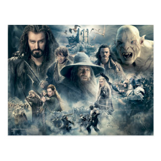 The Battle of Five Armies Post Card