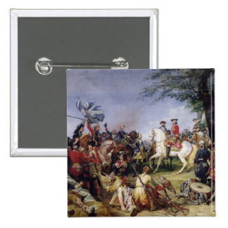 The Battle of Fontenoy, 11th May 1745, 1828 Button
