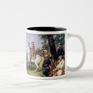The Battle of Fontenoy, 11th May 1745, 1828 Two-Tone Coffee Mug
