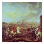 The Battle of Fontenoy, 11th May 1745 Posters
