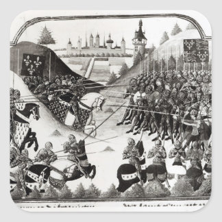 The Battle of Formigny Square Sticker