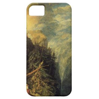 The Battle of Fort Rock, Val d'Aoste, Piedmont by iPhone SE/5/5s Case