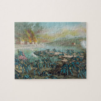 The Battle of Fredericksburg by Kurz and Allison Jigsaw Puzzle