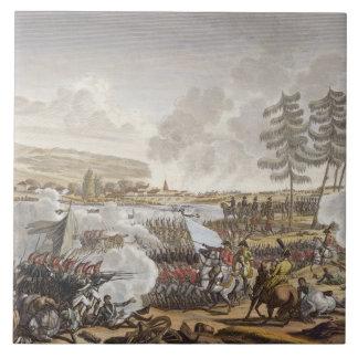 The Battle of Friedland, 14 June 1807, engraved by Ceramic Tile