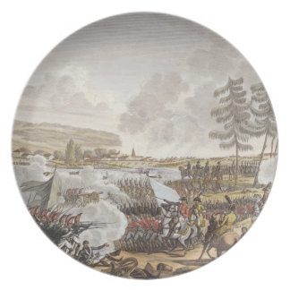 The Battle of Friedland, 14 June 1807, engraved by Plate