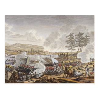 The Battle of Friedland, 14 June 1807, engraved by Postcard