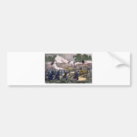 The battle of Gettysburg, Pa. July 3d. 1863 Bumper Sticker