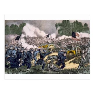 The battle of Gettysburg, Pa. July 3d. 1863 Postcard