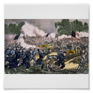 The battle of Gettysburg, Pa. July 3d. 1863 Posters