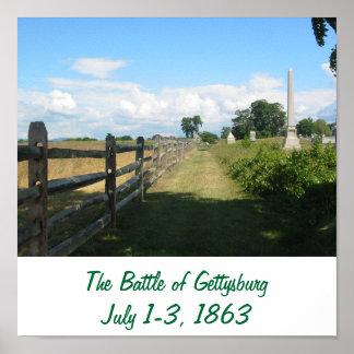 The Battle of Gettysburg Print 2