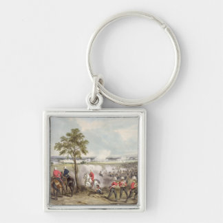 The Battle of Goojerat on 21st February 1849, engr Keychain