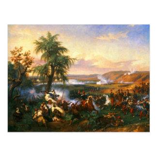 The Battle of Habra, Algeria, December 1835 Postcard