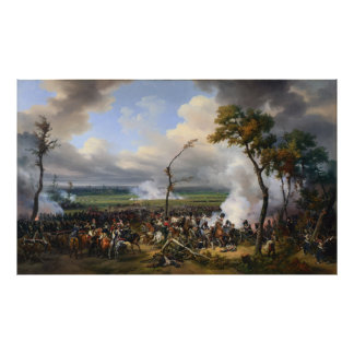The Battle of Hanau by Horace Vernet (1824) Poster