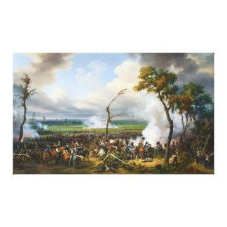 The Battle of Hanau by Horace Vernet Canvas Print