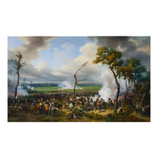 The Battle of Hanau by Horace Vernet Poster