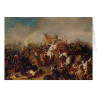 The Battle of Hastings in 1066 Card