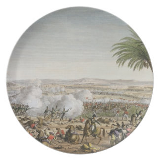 The Battle of Heliopolis, 29 Ventose, Year 8 (20 M Melamine Plate