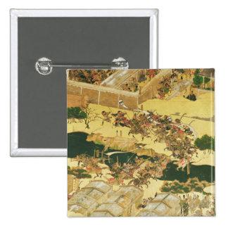 The Battle of Hogen from a screen Pinback Button