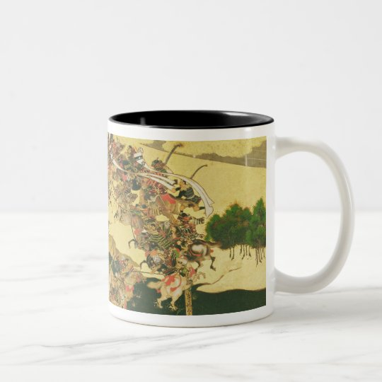 The Battle of Hogen from a screen Two-Tone Coffee Mug