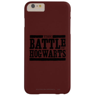 The Battle of Hogwarts Barely There iPhone 6 Plus Case