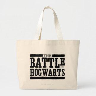 The Battle of Hogwarts Large Tote Bag