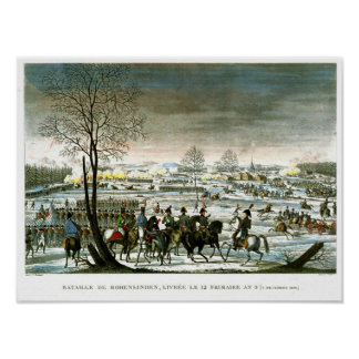 The Battle of Hohenlinden Print