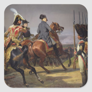 The Battle of Iena, 14th October 1806, 1836 Square Sticker