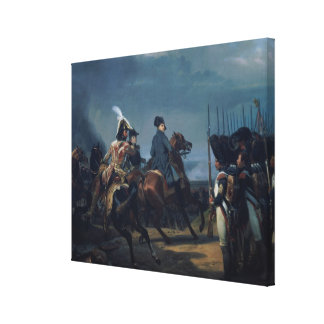 The Battle of Iena, 14th October 1806 (for detail Canvas Print