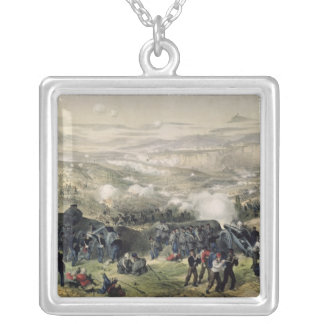 The Battle of Inkerman, 5th November 1854, 1855 Silver Plated Necklace