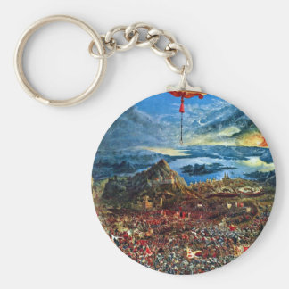 The battle of Issus by Albrecht Altdorfer Keychain