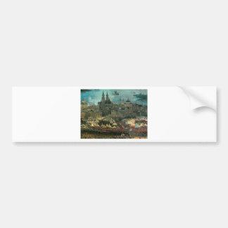 The battle of Issus(fragment) Albrecht Altdorfer Bumper Sticker