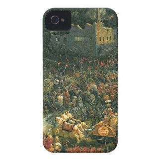 The battle of Issus(fragment) by Albrecht Altdorfe iPhone 4 Case