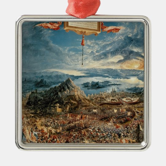 The Battle of Issus Metal Ornament