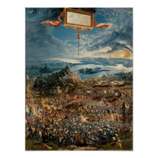 The Battle of Issus Poster